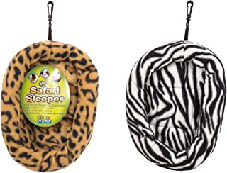 (2 Pack) Ware Manufacturing Safari Sleeper Beds for Small Animals, Medium - Colors May Vary
