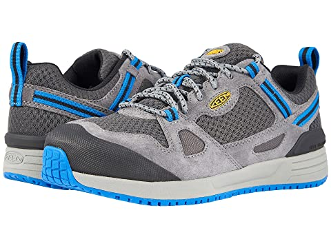 Cost Cheap Price Keen Utility Springfield Aluminum Toe Steel Grey/Skydiver Cheap Sale Amazon Yzhj5NG1M
