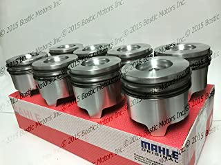 Ford 7.3 7.3L Diesel Pistons +.020 Oversize Bore w/ Rings 95-03 MAHLE Clevite Set of 8
