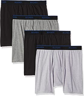 Men's 4-Pack Comfortblend Boxer Briefs with FreshIQ