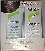 NOREVA LED ACTIPUR Pack 3 en 1 (30 ml) et Gel Dermo-Nettoyant (150 ml)