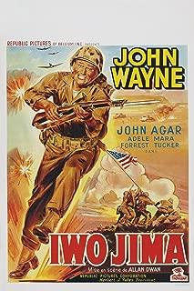 Sands of Iwo Jima (1949) Movie Poster 24x36 inches John Wayne