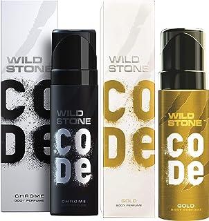 Wild Stone Code Chrome & Gold Combo