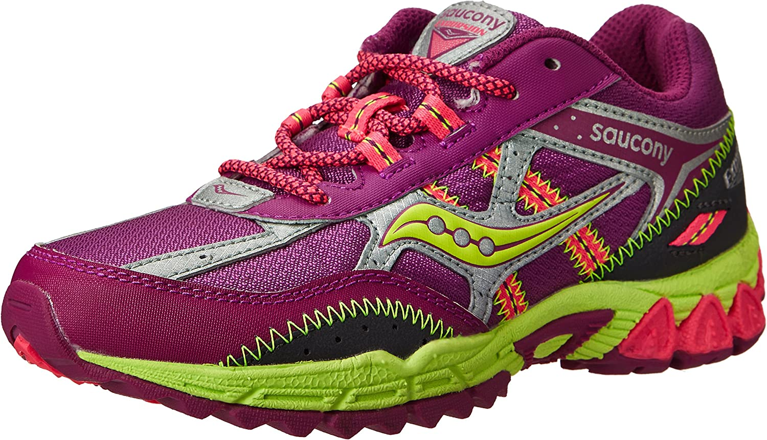 Saucony Girls Excursion Running shoes (Little Kid Big