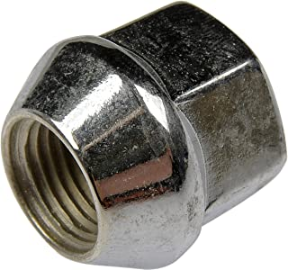 Dorman 611-154-BP Bulge Seat Wheel Nut - 1/2-20, 3/4 In. Hex, 0.833 In. Length, Pack of 200