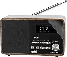 Imperial 22-220-00 DABMAN 100 Digitalradio (Holzgehäuse, LCD-Display, DAB+/UKW, RDS,..