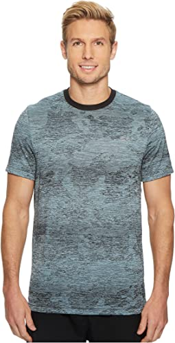Sport Print Technical Jersey Tennis T-Shirt