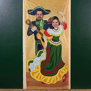 Fun Express Fiesta Couple Photo Door Banner
