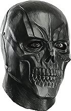 Rubie's Costume Men's Arkham City Adult Deluxe Overhead Latex Black Mask