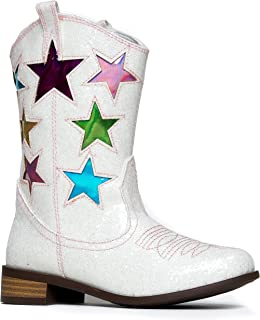 Girls' Boots - Western / White / Boots