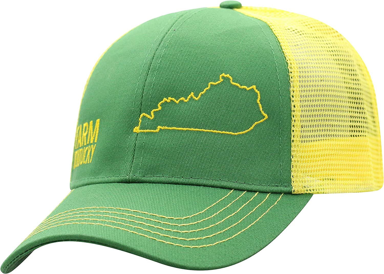 John Deere Farm State Free shipping Pride Cap-Green Yellow-Kentucky Courier shipping free shipping and