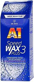 Dr. Wack A1 Speed Wax Plus 3, 500 ml, nieuwe formule, premium autowas met carnauba, langdurige bescherming en glans, gesch...