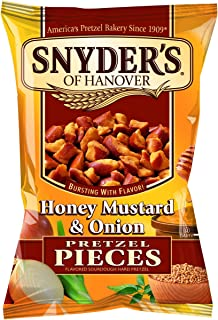 Snyder's Honey, Mustard and Onion Pretzel Pieces 125g - 10
