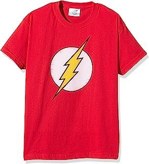 DC Comics Distressed Flash Logo Camiseta para Niños