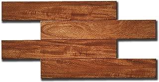 Artesania Muro Adhesive Kitchen Backsplash Tiles, Wood Grain, Adhesive, Fire Proof, Water Proof, Anti-Moldy,13.4 inch x 6.7 inch per Tile, Pack of 11 Tiles