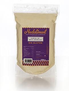 Harina de Maíz Amarillo Sin Gluten 1000 gr