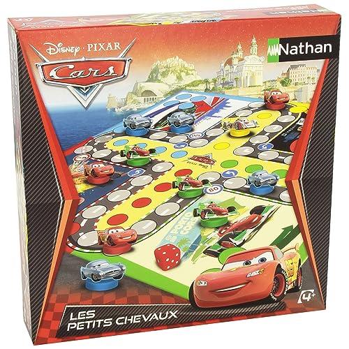 Nathan - 31308 - Jeu de Société - La Course des Champions - Cars 2