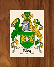 Carpe Diem Designs Riley Coat of Arms/Riley Family Crest 8X10 Photo Plaque, Personalized Gift, Wedding Gift