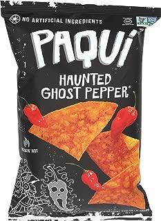 Paqui Tortilla Chips, Gluten Free Snacks, Haunted Ghost Pepper, 5.5oz (Single bag)