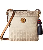 Tommy Hilfiger - Summer of Love North/South Crossbody Jacquard