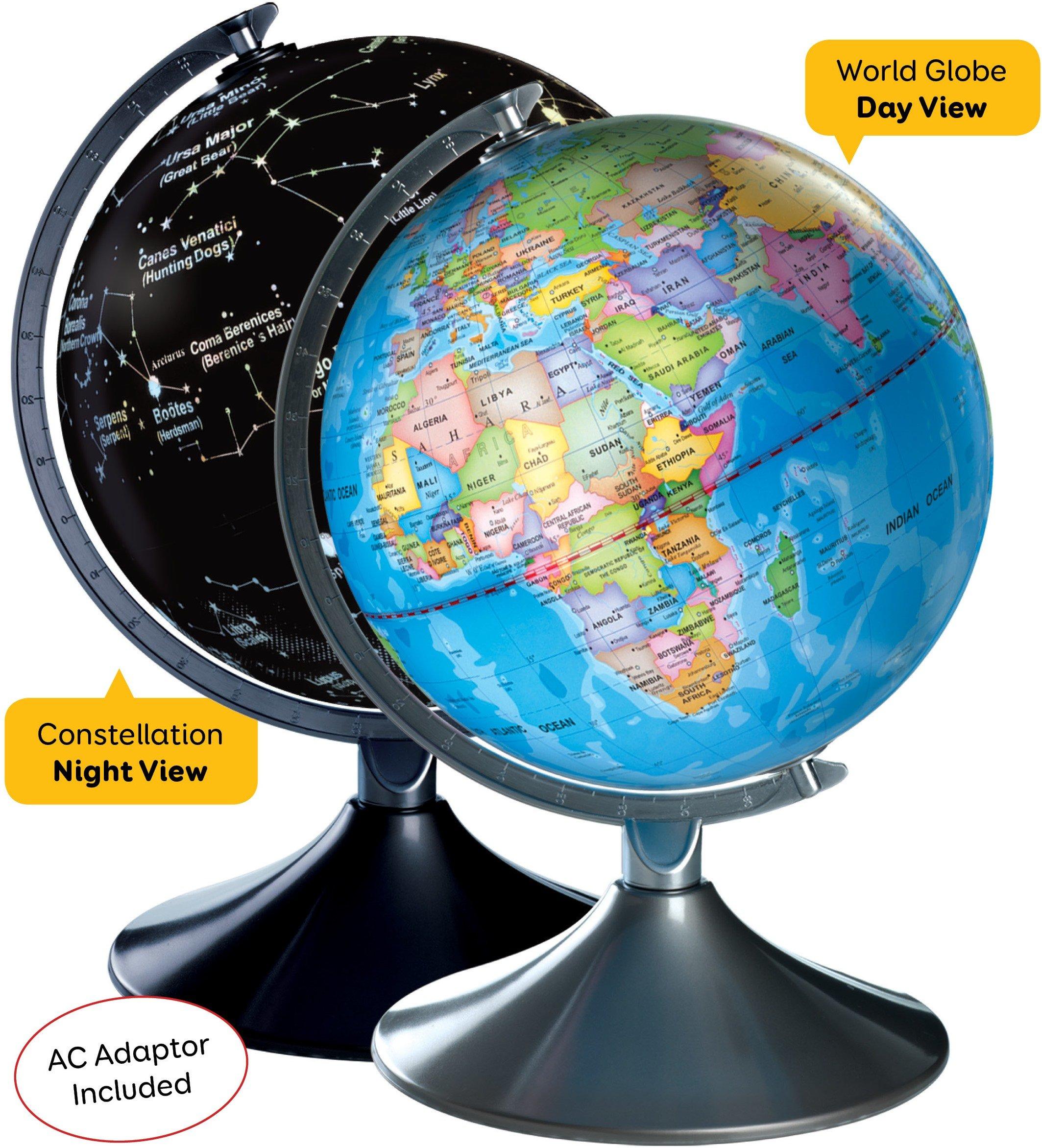 Interactive World Illuminated Globe Kids