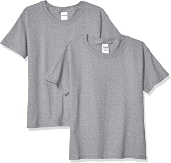2-Pack Gildan Kids' Heavy Cotton Youth T-Shirt