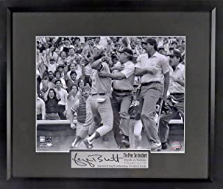 "KC Royals George Brett ""The Pine Tar Incident"" 11x14 Photograph (SG Signature Series) Framed"