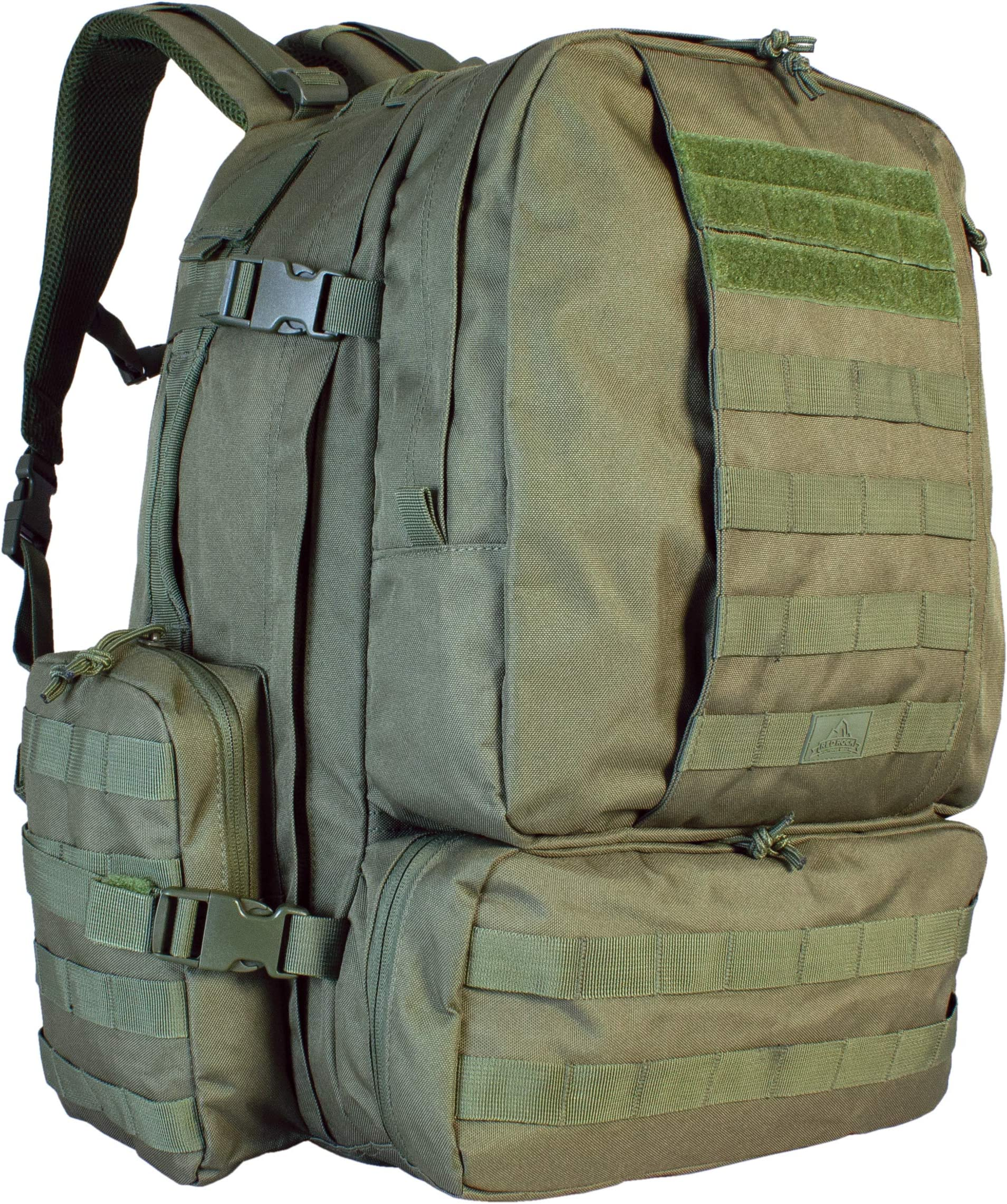 Red Rock Outdoor Gear Diplomat Pack (X-Large, Olive Drab)