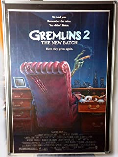 Gremlins 2 The New Batch Original Single Sided 27x41 Movie Poster 1990