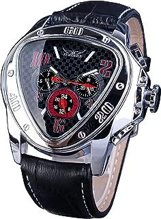 Jaragar Fashion Sport Triangle Racing Design Automatic Men Wrist Watch