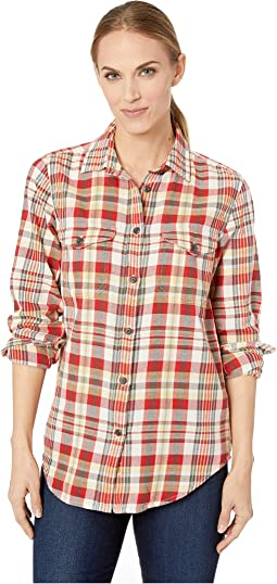 Red/White/Gold Plaid