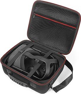 Estuche rígido para Oculus Quest All-in-One VR Gaming Headset y Sus Accesorios, Bolsa de Viaje de Almacenamiento de protección.