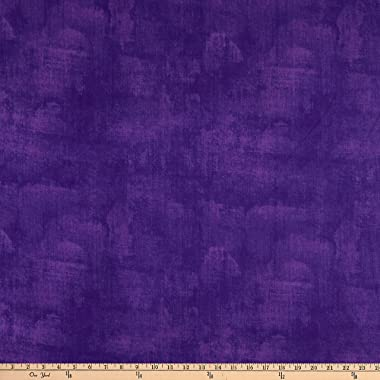 "Wilmington Prints Wilmington Essentials 108"" Quilt Backing Dry Brush, Purple Yard"