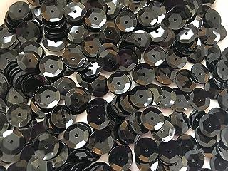 Sequins 8mm 800/Pkg Black