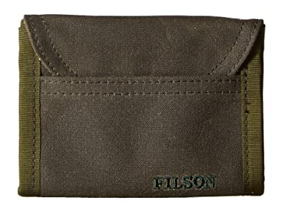 Filson Smokejumper Wallet (Otter Green) Wallet Handbags