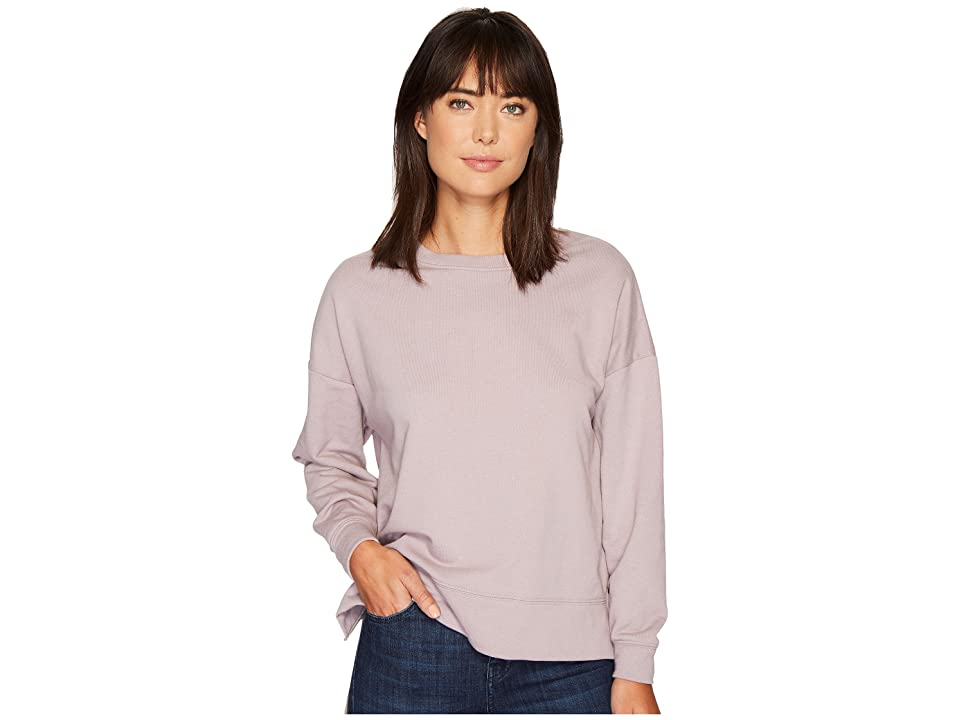 Alternative Vintage French Terry Getaway Pullover (Pale Violet) Women