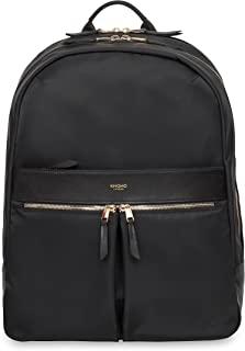 Knomo Luggage Women's Beaufort Business Backpack, Black, One Size