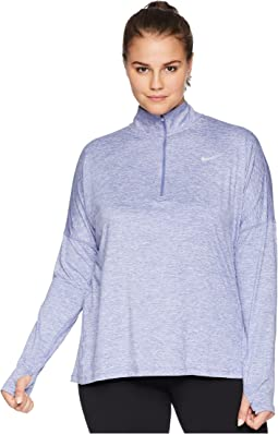 Dry Element 1/2 Zip Running Top (Size 1X-3X)