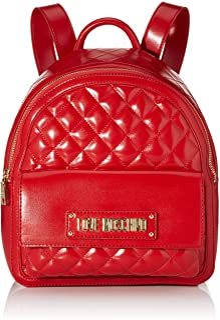 Love Moschino Borsa Quilted Nappa Pu, Zainetto Donna, 31x12x30 cm (W x H x L)