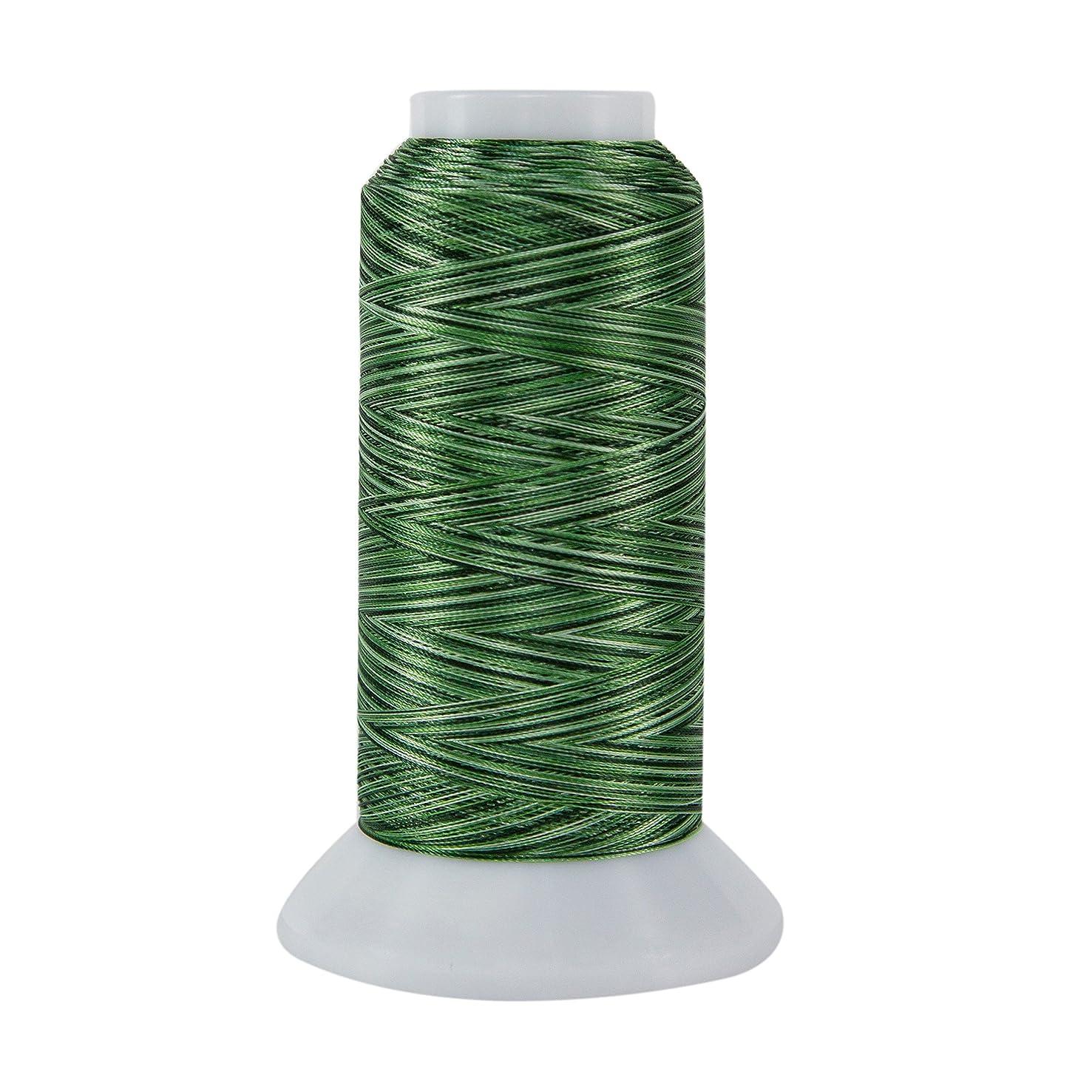 Superior Threads 11002-822 Rainbows Shamrocks 40W Polyester Thread, 2000 yd
