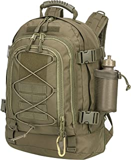 PANS Backpack Work Backpack School Backpack Expandable Large,Molle System,Durable for Men for Hiking Camping Sports and Travel