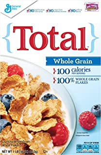 Total Whole Grain Breakfast Cereal, 16 oz (Pack of 14)