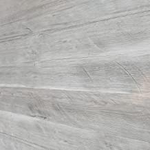 Easy Peel & Stick DIY Real Distressed Wood Wall Plank or Panel - 12 Pieces - 19.50 SF - Large 5