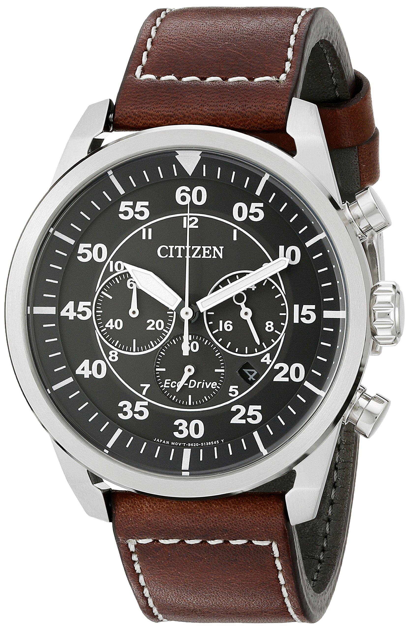 Citizen Eco Drive Stainless Chronograph CA4210 24E