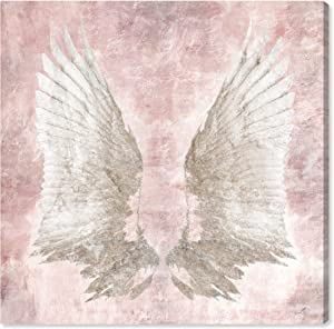The Oliver Gal Artist Co. Fashion and Glam Wall Art Canvas Prints 'Chie's Freedom Wings ' Home Décor, 16