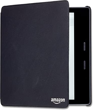 Kindle Oasis Leather Cover (9th & 10th Generation) - Black