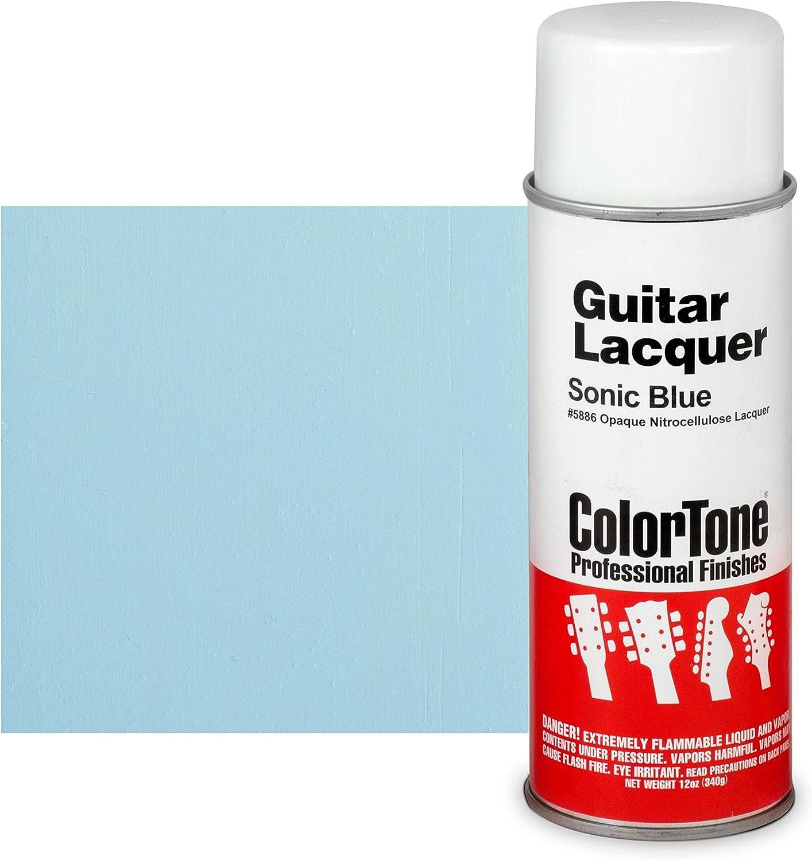 ColorTone 50s Classic Colors 67% OFF of fixed Superlatite price Aerosol Sonic Blue Guitar Lacquer