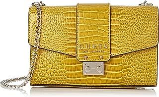 GUESS Womens Cross-Body Bag, Yellow - CG743521