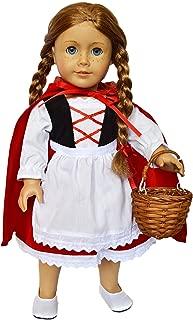 DollsHobbiesNmore Little Red Riding Hood Outfit for American Girl Dolls