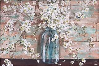 Patton Wall Decor Blooms in Mason Jar Floral Art, 24